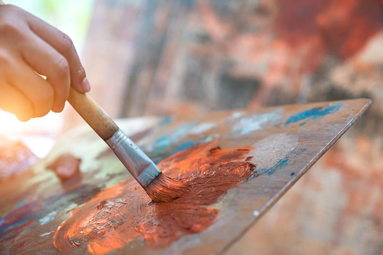 peinture par numéros activité adultes