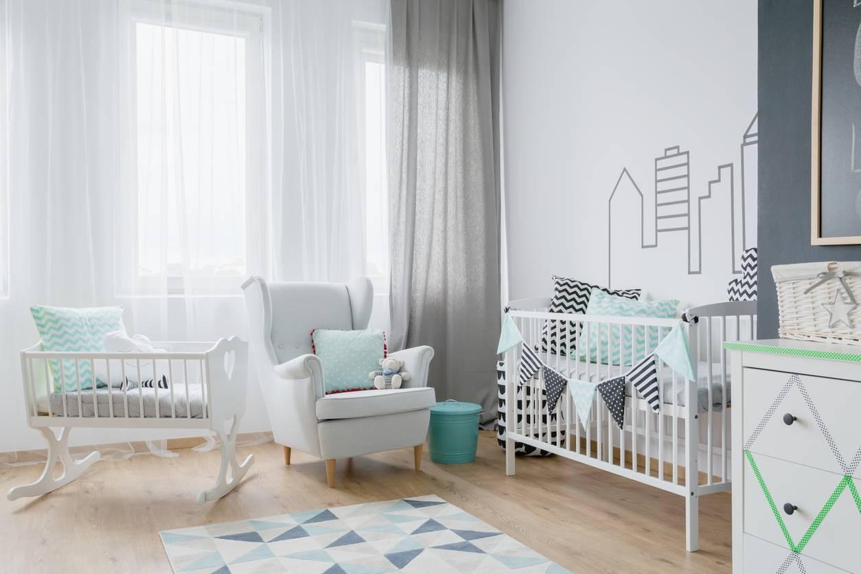 fauteuil à bascule mobilier chambre bébé