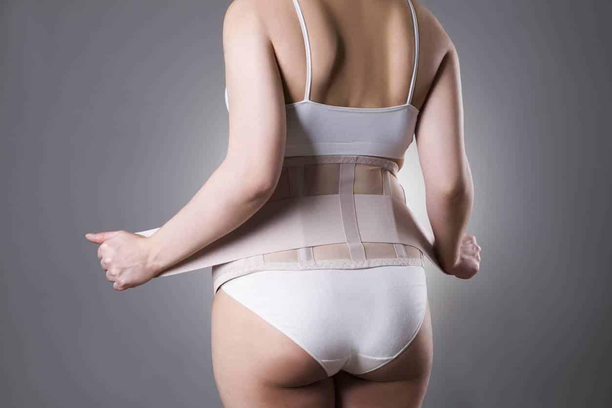 astuce jeune maman ; ceinture gainante ; corset gainant ; ceinture abdominale grossesse